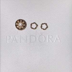 14k gold Pandora charms